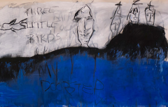 Three-Little-Birds-3_7_18-Mixed-Media-on-Canvas-8'x5'