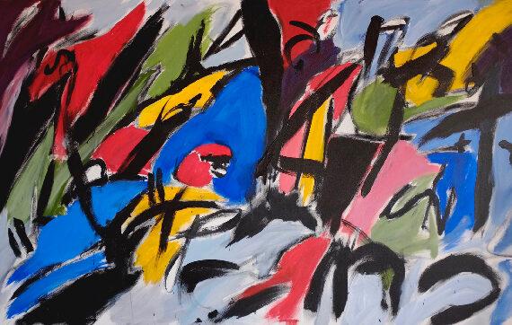 Untitled-3'x5'-Acrylic-on-Canvas