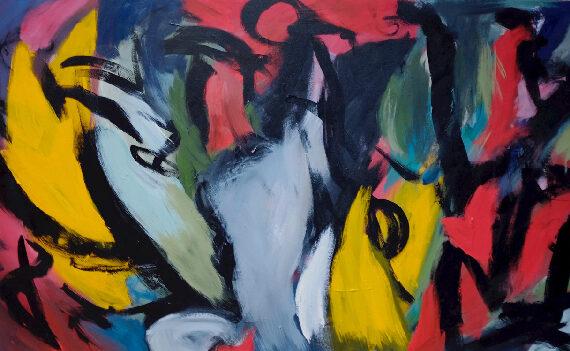 Untitled-3'x5'--Acrylic-on-Canvas