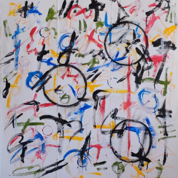 Untitled-4'x4'-Acrylic-on-Sewn-Canvas-