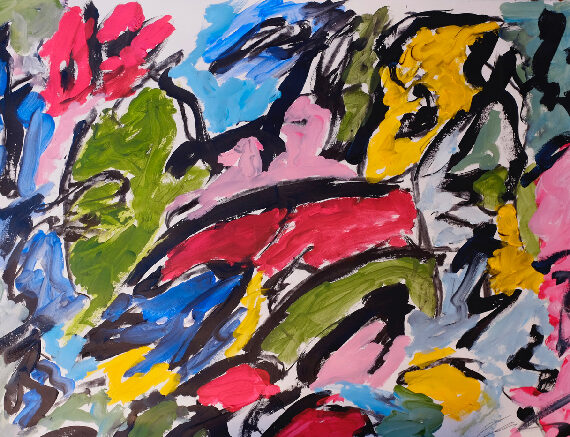 Untitled-Acrylic-on-Paper-2-22'x30'-